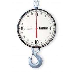 Ametek U.S. Gauge - WT12-05000-EH - Dial Crane Scale, Aluminum, 19-13/16 In. H