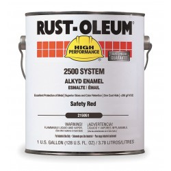 Rust-Oleum - 215951 - Gloss Safety Red Interior/Exterior Paint, 1 gal.