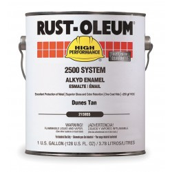 Rust-Oleum - 215955 - Gloss Dunes Tan Interior/Exterior Paint, 1 gal.