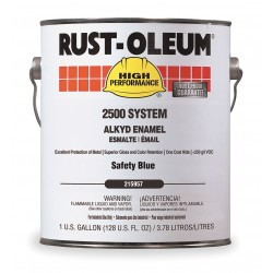 Rust-Oleum - 215957 - Gloss Safety Blue Interior/Exterior Paint, 1 gal.