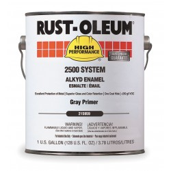 Rust-Oleum - 215959 - Interior/Exterior Primer with 420 to 870 sq. ft./gal. Coverage Gray, 1 gal.