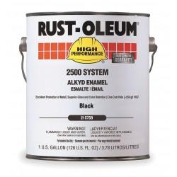 Rust-Oleum - 215759 - Hp 2500 Sys <250 Voc Dtmalkyd Enamel 1 Gal. Bk
