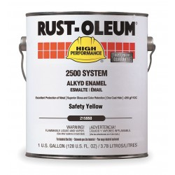 Rust-Oleum - 215950 - Gloss Safety Yellow Interior/Exterior Paint, 1 gal.