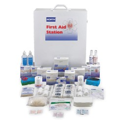 North Safety / Honeywell - 019722-0011L - First Aid Kit, Bulk, White, 788 Pcs, 200 Ppl