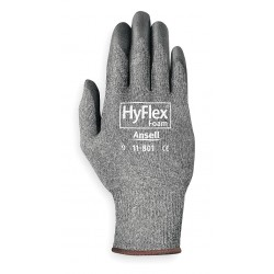 Ansell-Edmont - 11-801 - 15 Gauge Foam Nitrile Coated Gloves, Glove Size: 2XL, Black/Gray