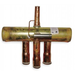 Ranco - V10-418140-170 - Slide Heat Pump Reversing Valve, Coil Operated Four Way, Suction Tube I.D. 1-1/8