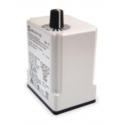 Square D - 9050JCK17V20 - Time Delay Relay, 120VAC Coil Volts, 10A Contact Amp Rating (Resistive), Contact Form: DPDT