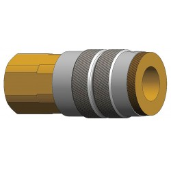 Dixon Valve - 4FF6 - Steel Industrial Quick Coupler Body