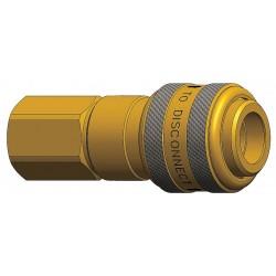 Dixon Valve - 4DF4-B - Brass Industrial Quick Coupler Body
