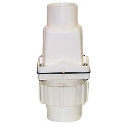 Zoeller - 30-0102 - 1-1/2 Check Valve with Union, PVC, Socket Connection Type