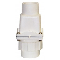 Zoeller - 30-0103 - 2 Check Valve with Union, PVC, Socket Connection Type