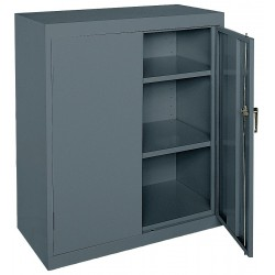 Sandusky Lee - CA21362442-02 - Storage Cabinet, Charcoal, 42 Overall Height, Assembled