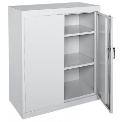 Sandusky Lee - CA21362442-05 - Storage Cabinet, Dove Gray, 42 Overall Height, Assembled