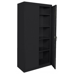 Sandusky Lee - CA41361878-09 - Storage Cabinet, Black, 78 Overall Height, Assembled