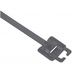 Band-IT - GRE112 - 9 In. Nylon 11 Coated Stainless Steel Zip Tie