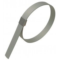 Band-IT - GRP209 - Galvanized Carbon Steel Preformed Band Clamp, PK of 10