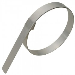 Band-IT - GRP20S - 201 Stainless Steel Preformed Band Clamp, PK of 10