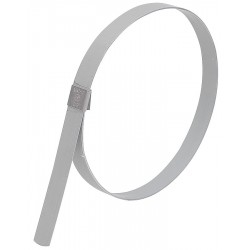 Band-IT - GRP289 - Galvanized Carbon Steel Preformed Band Clamp, PK of 10