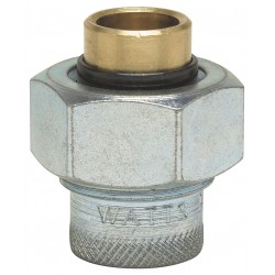 Watts Water Technologies - 11/4 LF 3001A-1 1/4 - 1-1/4 Brass, Malleable Iron Dielectric Union with FIP x Solder Fitting Connection Type