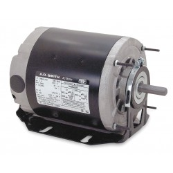 A.O. Smith - ARB2024L2 - 1/4, 1/12 HP Belt Drive Motor, Split-Phase, 1725/1140 Nameplate RPM, 115 Voltage, Frame 56Z