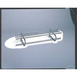 Bevco Precision - 148 - Wall Mount Coat Rack Single 48 Silver Steel Bevco, Ea