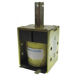 Guardian Electric - 4L-C-24D - Solenoid, 24VDC Coil Volts, Stroke Range: 1/8 to 1, Duty Cycle: Continuous