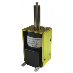 Guardian Electric - 28P-I-12D - Solenoid, 12VDC Coil Volts, Stroke Range: 1/8 to 1/2, Duty Cycle: Intermittent