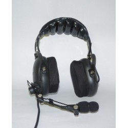 Vertex Standard - VH111 - Over the Head Over Ear, Two Ear, Black, Noise Canceling No