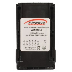 Airwave Accessories - AIR232LI - Lithium-Ion 7.4 Voltage Battery Pack