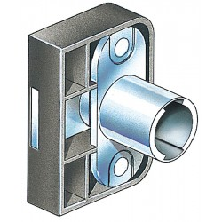 CompX - C290CB - Interchangeable Core Cabinet Dead Bolt, For Door Thickness (In.): 3/4