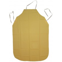 Ansell-Edmont - 56-600 - Bib Apron, Yellow, 48 Length, 35 Width, Urethane/Nylon Material, EA, 1