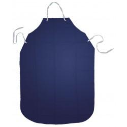 Ansell-Edmont - 56-601 - Bib Apron, Blue, 48 Length, 35 Width, Urethane/Nylon Material, EA, 1