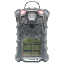 MSA - 10110443 - Multi-Gas Detector, 3 Gas, -4 to 122F, LCD