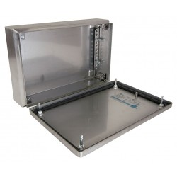Rittal - 1524010 - 7.90 x 11.80 x 3.10 304 Stainless Steel Enclosure