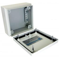Rittal - 1507510 - 11.80 x 11.80 x 4.70 Carbon Steel Enclosure