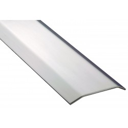 Pemko - 154SS98 - 8 ft. x 5 x 1/2 Smooth Top Saddle Threshold, Silver