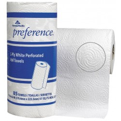 Georgia Pacific - 27385 - Preference 78 ft. Kitchen Perforated Roll, White, 30PK