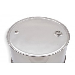 Skolnik - ST0803 - 8 gal. Silver 304 Stainless Steel Closed Head Transport Drum