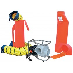 Air Systems - SVB-E8CUP - Centrifugal Confined Space Blower Kit, 1/2 HP, 115VAC Voltage