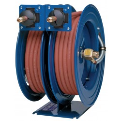Coxreels / Coxwells - C-LP-150-150 - Combination Air/Water Reel, 300 psi, 1/4, Hose Length: 50 ft., AC Cord Length: Not Included