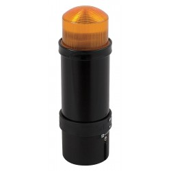 Telemecanique / Schneider Electric - XVBL8B5 - 5-1/2 Strobe Tower Light Incandescent Assembly with 70mm Dia., Amber