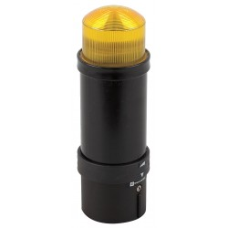Telemecanique / Schneider Electric - XVBL8B8 - 5-1/2 Strobe Tower Light Incandescent Assembly with 70mm Dia., Yellow