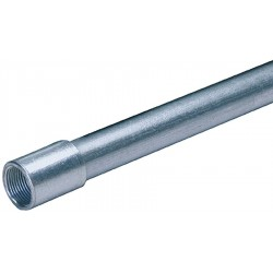 Allied - 858969 - Rigid Galvanized Steel Conduit, Trade Size: 1-1/2, Nominal Length: 10 ft.