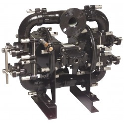 Sandpiper / Warren Rupp - W09-3 DB1II - Cast-Iron Buna Single Double Diaphragm Pump, 140 gpm, 125 psi