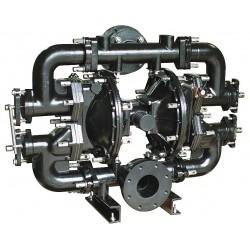 Sandpiper / Warren Rupp - W15-4 DB1II - Cast-Iron Buna Single Double Diaphragm Pump, 260 gpm, 125 psi