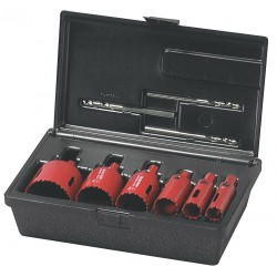 M.K. Morse - TA04P - 9pc. Plumbers Hole Saw Kit W/case