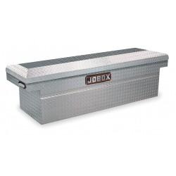 Jobox - JAC1379980 - Aluminum Crossover Truck Box, Silver, Single, 13.0 cu. ft.