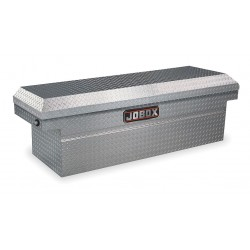 Jobox - JAC1391980 - Aluminum Crossover Truck Box, Silver, Single, 8.0 cu. ft.
