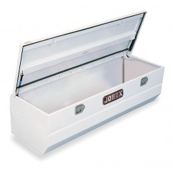 Jobox - JSH1434980 - Steel Truck Box Chest, White, Single, 10.2 cu. ft.