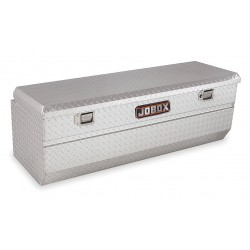 Jobox - JAH1426980 - Aluminum Truck Box Chest, Silver, Single, 10.2 cu. ft.